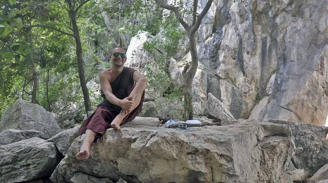 buddyjski mnich tajlandia